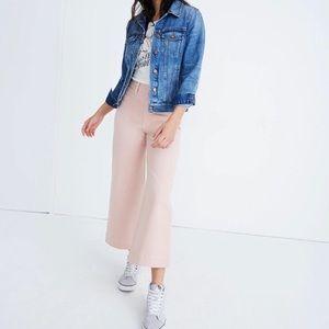 NWT MADEWELL Emmett crop pants (petite pink)